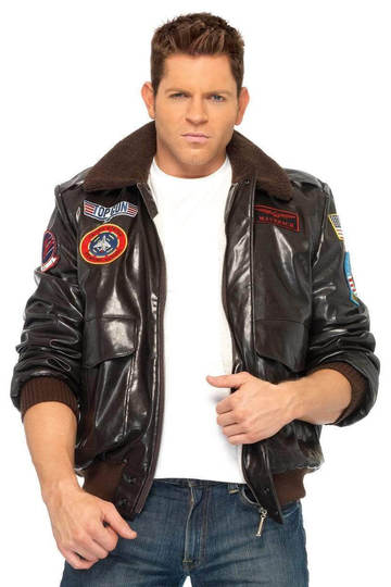 Top Gun Men's Bomber Jacket SM
