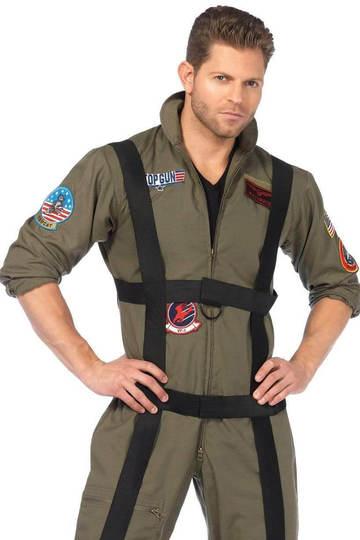 Top Gun Paratrooper Men's Costume