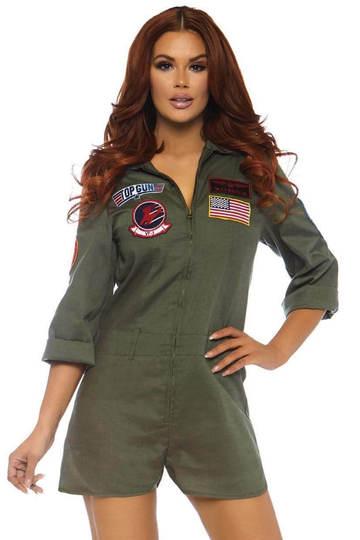 Top Gun women's flight suit ro