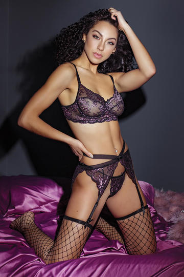 Secret Garden Bra & Panty Set