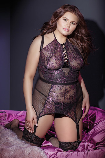 Secret Garden Plus Size Bustier