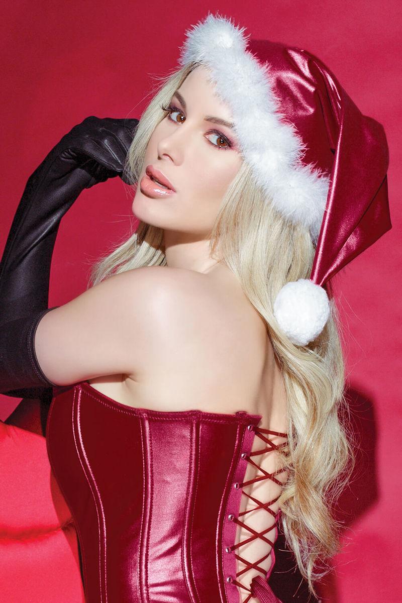 Darque Christmas Santa Hat