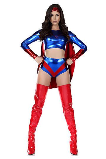 Superpower Sexy Hero Costume
