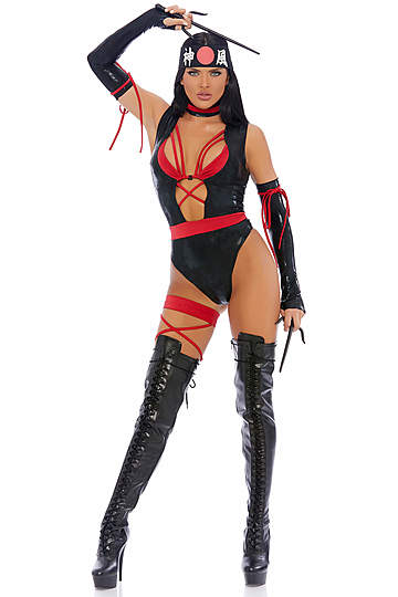 Chop Til You Drop Sexy Ninja Costume