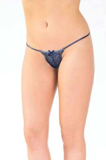 Lovely Lace G-String Panty