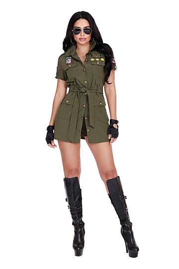 Fighter Pilot Women's Costume