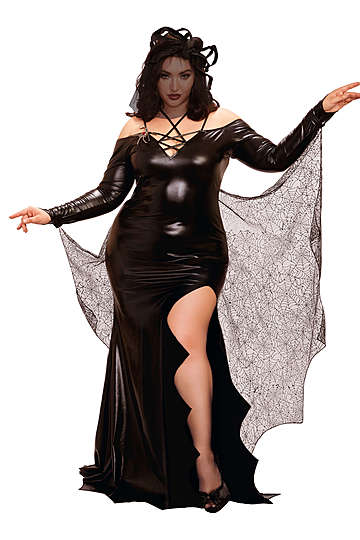 The Black Widow Plus Size Costume