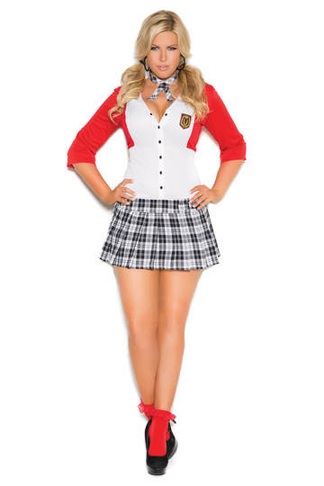 Plus Size Dean List Diva Costume