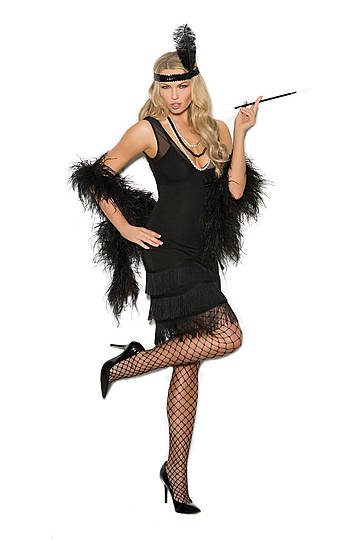 Sexy Flapper Women's Costume