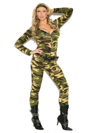 Plus Size Combat Warrior Costume