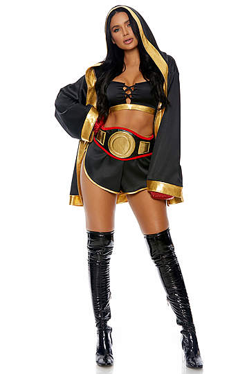 TKO Sexy Boxer Costume