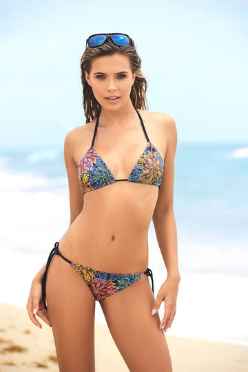 Surfside Three Piece Bikini Swimsuit Set