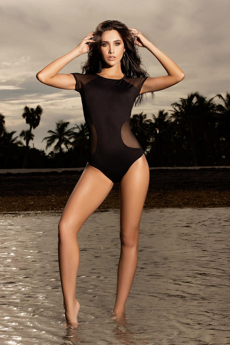 Sleek & Sophisticated One Piece Swimsuit