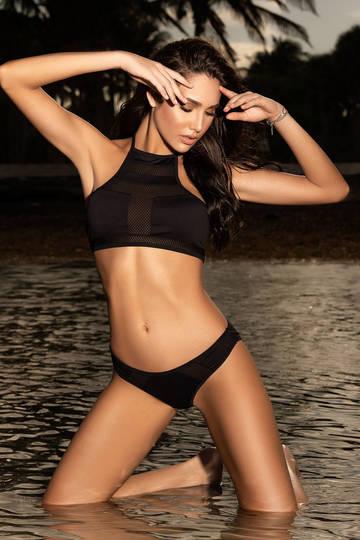 Geometric Bikini Swimsuit