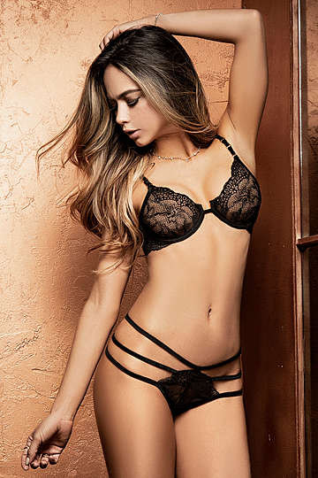 Loving Lace Bra & G-String Set