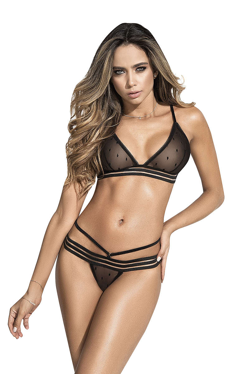 Simple Seduction Lingerie Set