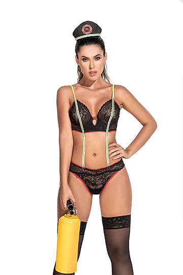 Frisky Firefighter Lingerie Costume