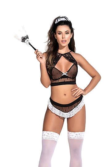 Frisky Maid Lingerie Costume