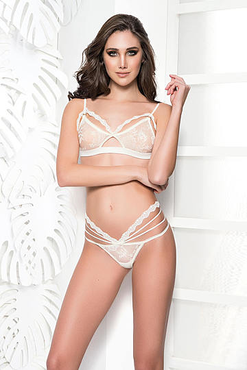 Playful Lace Bra & Panty Set