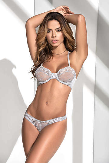 Shoreline Grey Bra & Panty Set