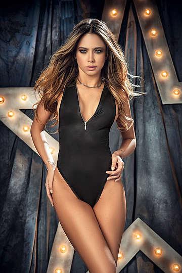Ultra Comfortable Wet Look Bodysuit