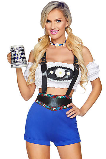 Lederhosen Honey Costume
