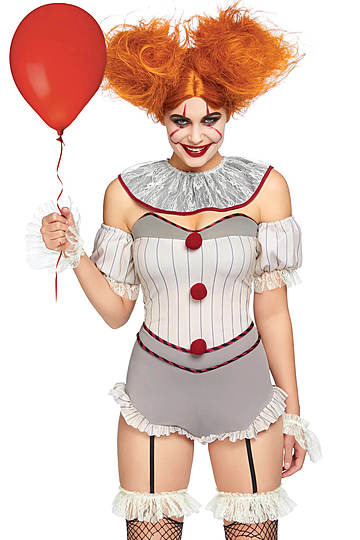 Killer Sewer Clown Costume