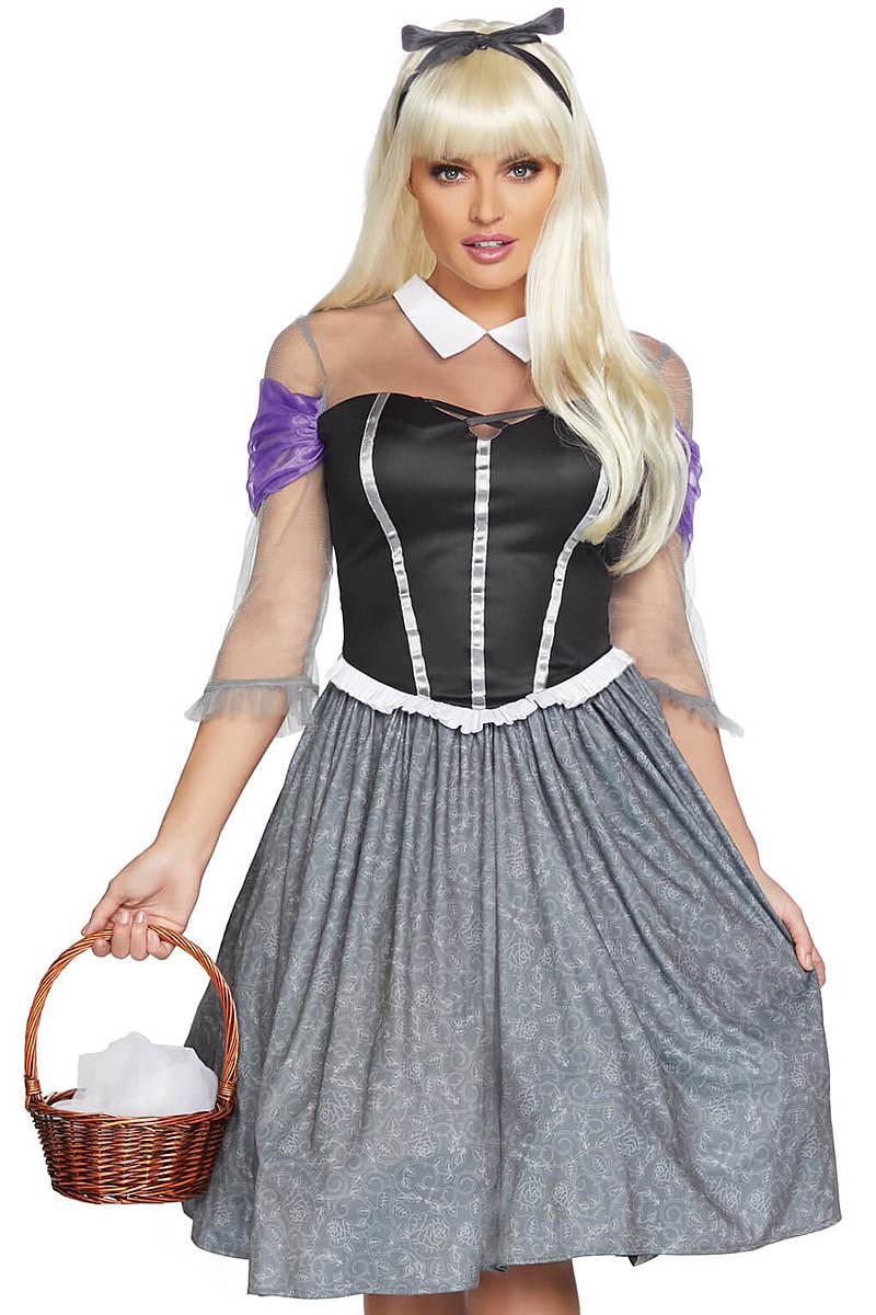 Peasant Sleeping Princess Costume