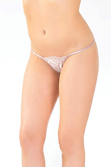 Rose Dust G-String Panty