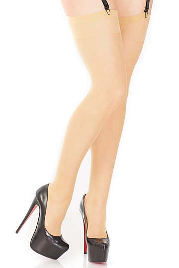 Coquette Thigh High Sheer Stockings