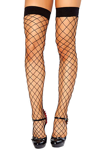 Open Fishnet Stocking