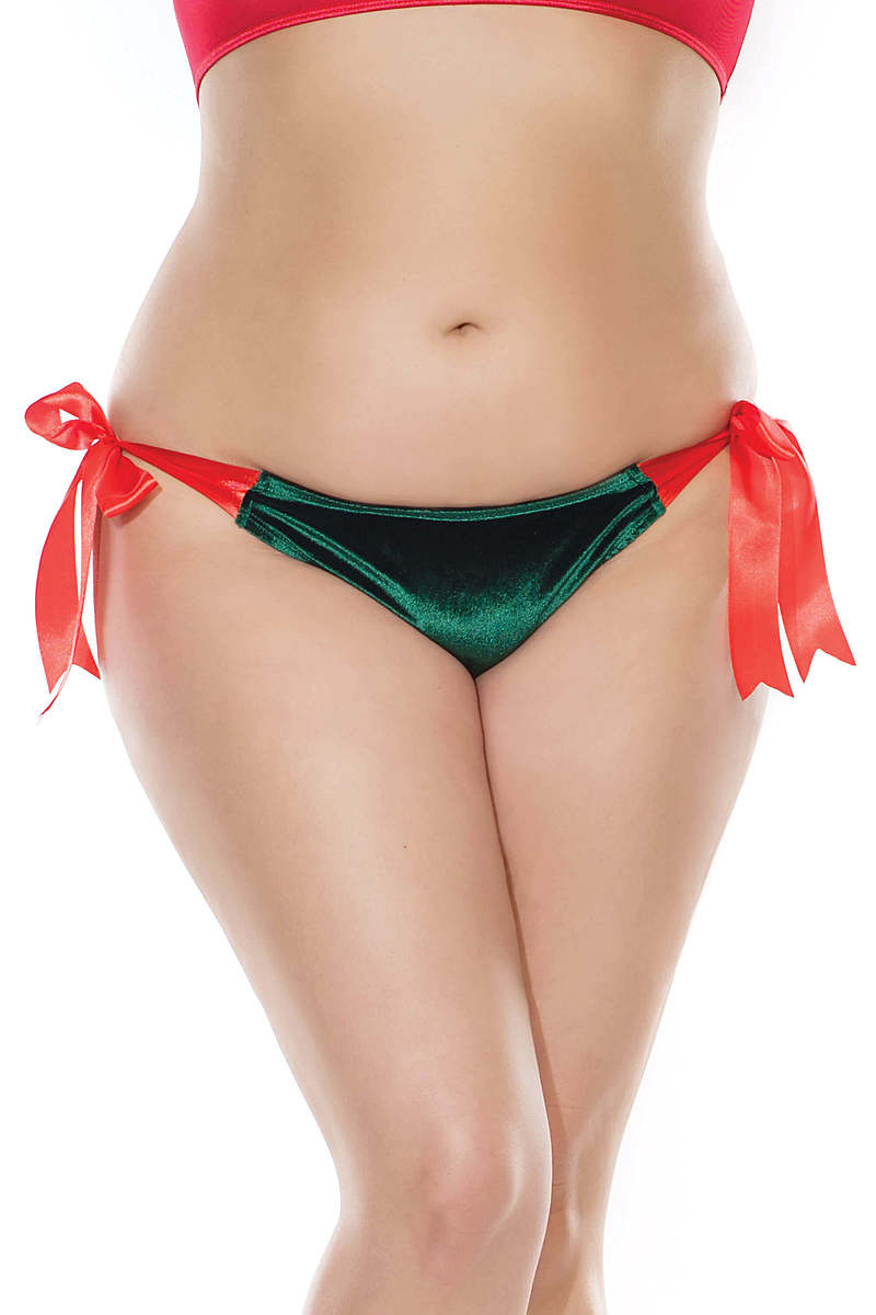 Holiday Wrapped Plus Size Panty