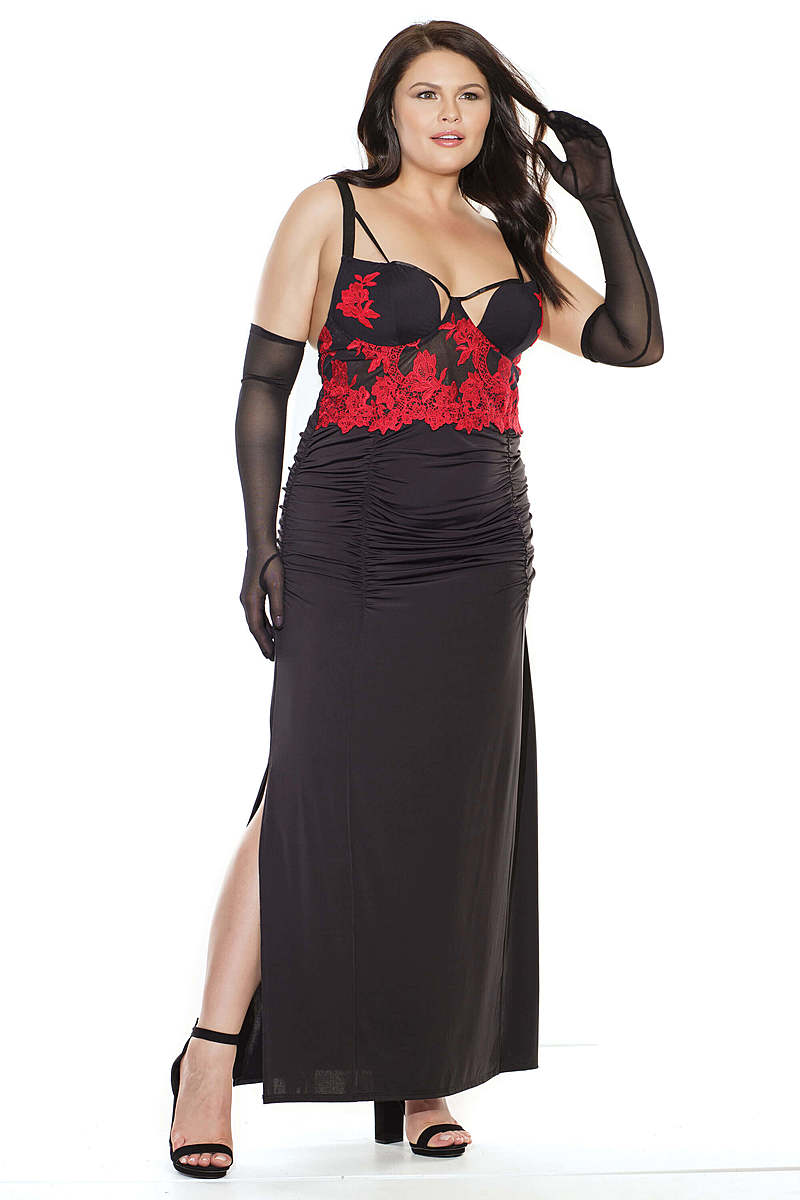 Sophisticated Desire Plus Size Gown
