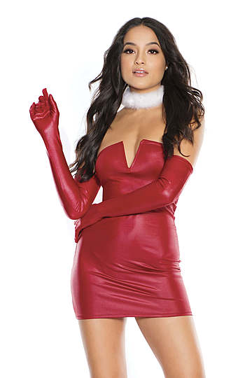 Red Heat Tube Dress