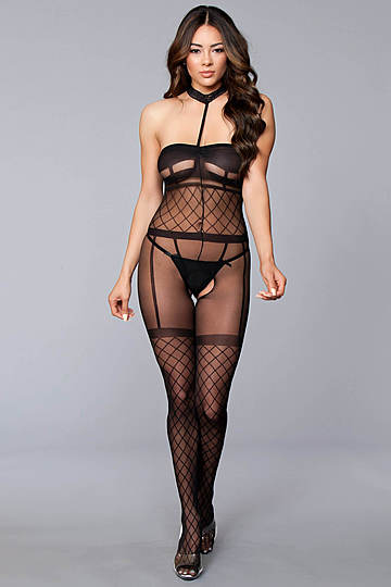 Natural Seduction Bodystocking