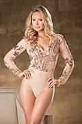 Gorgeous Sequined Bodysuit