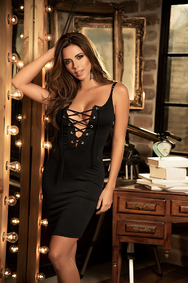 Seductive Straps Dress
