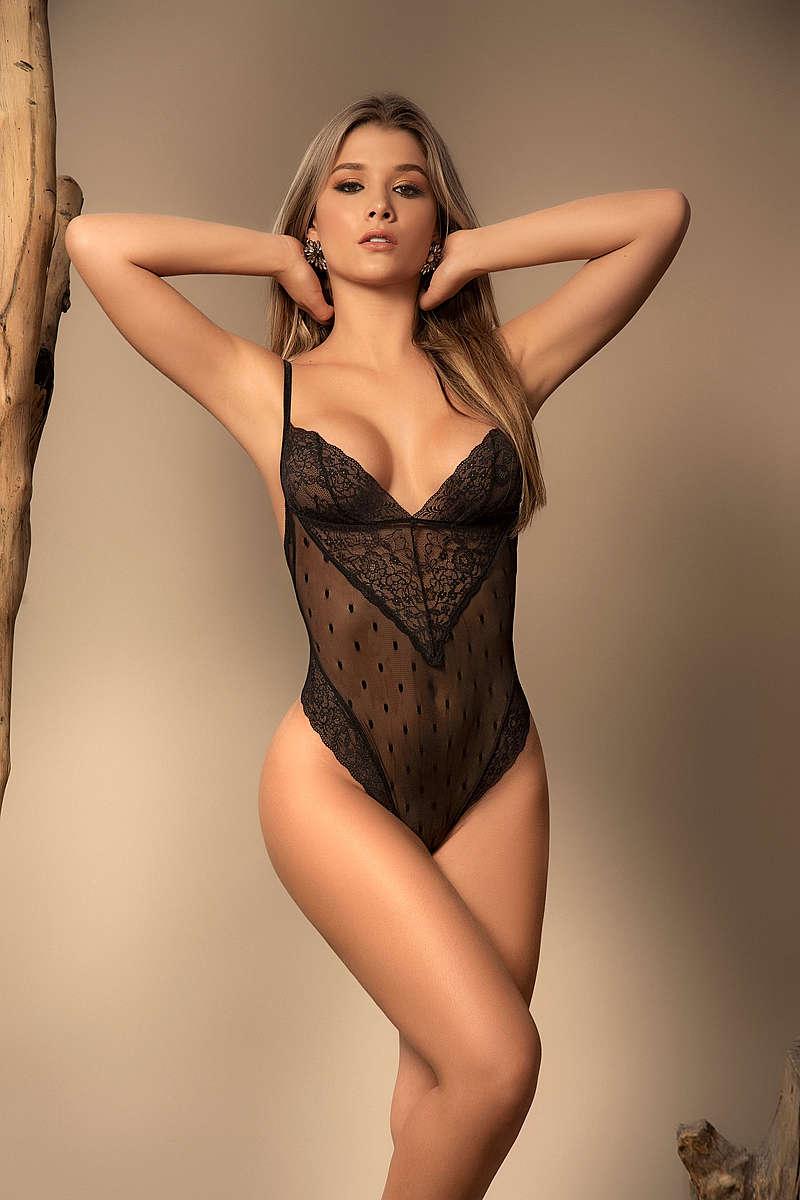 Sexy Silhouette Bodysuit