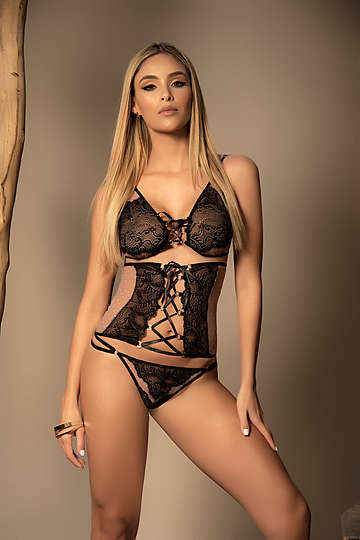 Whisper to Me Lingerie Set