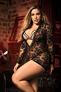 Plus Size Ethereal Lingerie Set
