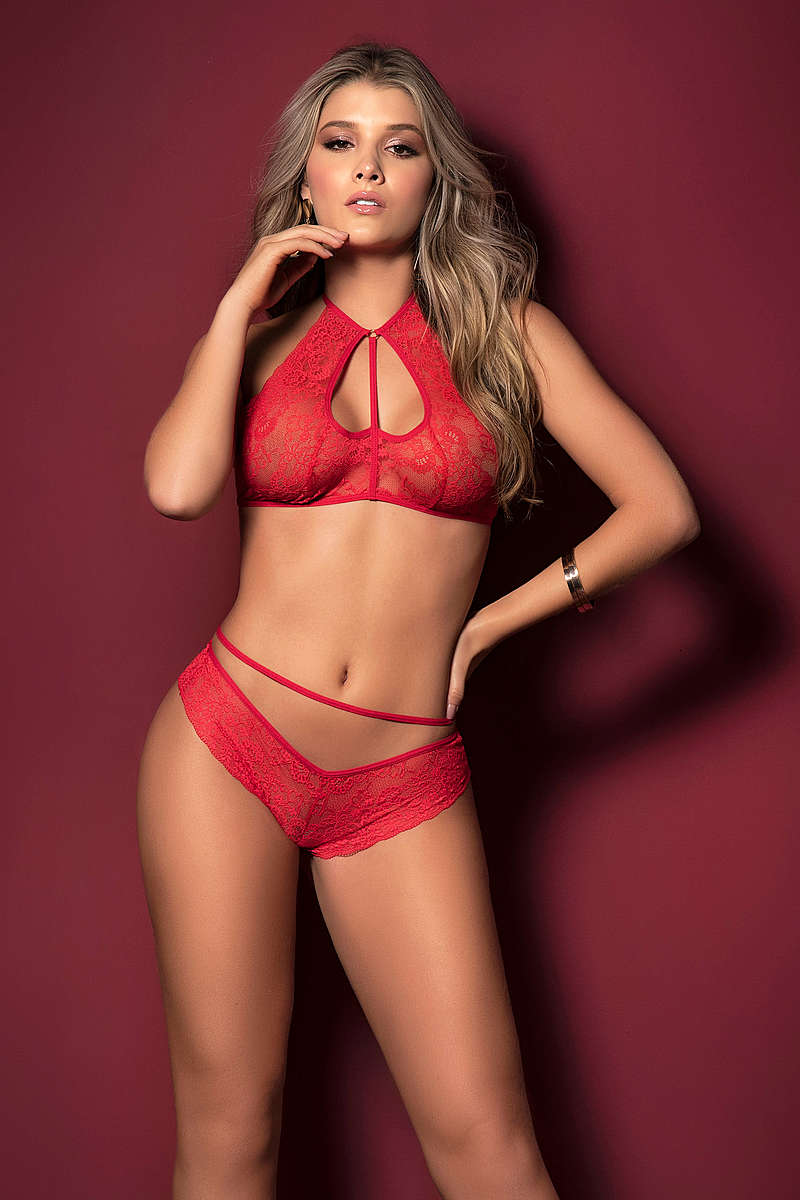 Hearts of Love Lingerie Set