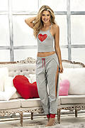 Heart Me Two Piece Top & Pants Set