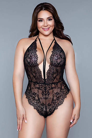 Diana Plus Size Teddy
