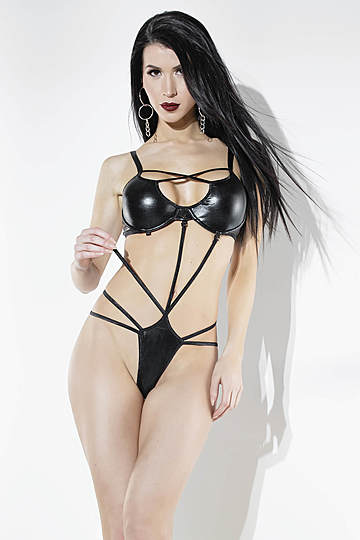 Strappy Seduction Teddy