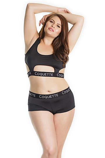 Coquette Plus Size Cutout Bralette