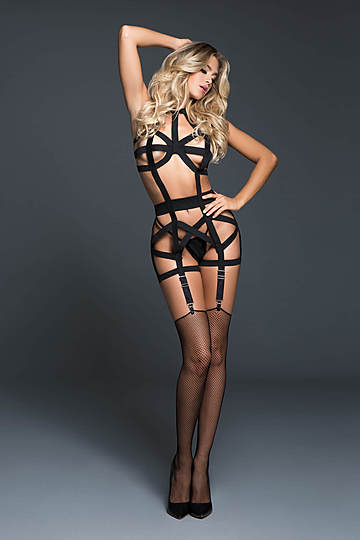 Deliciously Playful Corselette