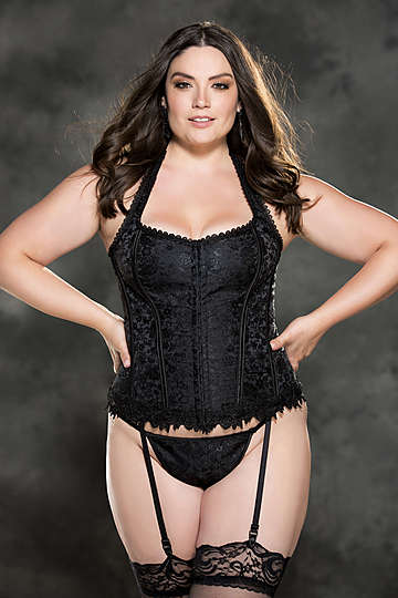 Plus Size Gorgeous Tapestry Corset