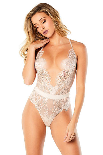 Scarlett Full Lace Bodysuit