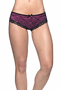 Lace Overlay Cage Panty