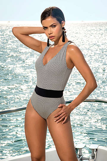 High Society One Piece Swimsuit